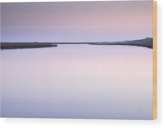 Sunset Wood Print featuring the photograph Algarve Portugal by Guido Montanes Castillo