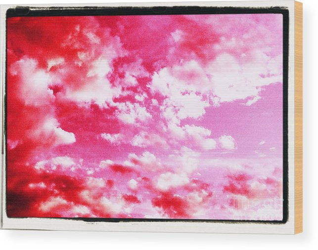 Clouds Wood Print featuring the photograph Anger Brewing by Tammy Herrin
