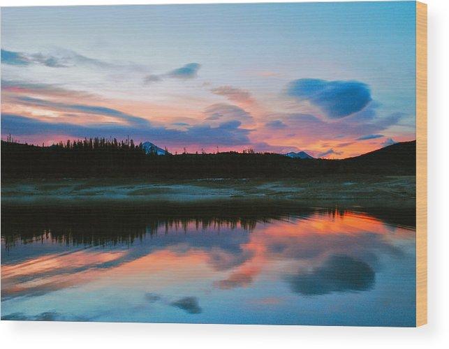 Colorado Wood Print featuring the photograph November Sunrise by Bob Berwyn