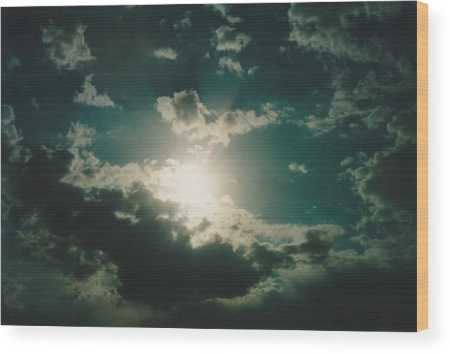 Photos Wood Print featuring the photograph Afternoon Sun Oklahoma by Gene Linder