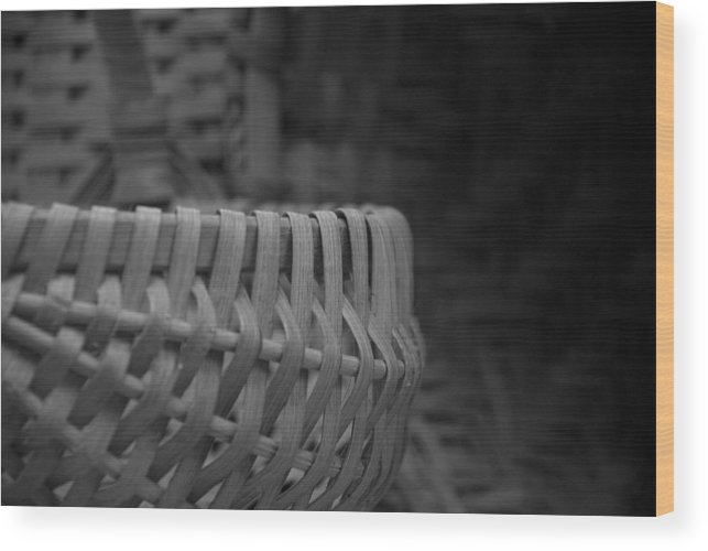 Baskets Wood Print featuring the photograph Baskets by Jessica Wakefield