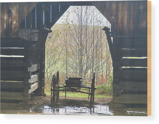 Buggy Wood Print featuring the photograph Buggy At Rest by Bj Hodges