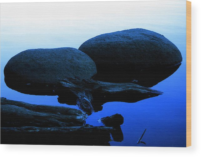 Photos Wood Print featuring the photograph Clear Lake Pt.1 by Jeff DOttavio