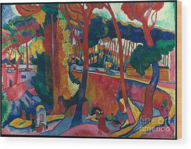 1906 Wood Print featuring the photograph Derain: Lestaque, by Granger