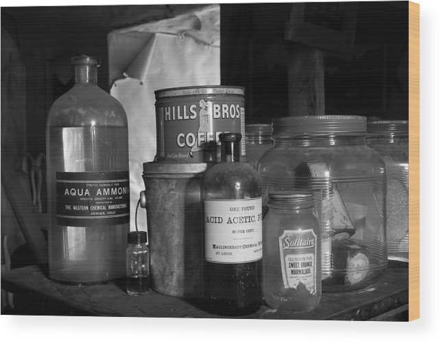 Alchemy Wood Print featuring the photograph Home Brew by Jennifer Riefenberg