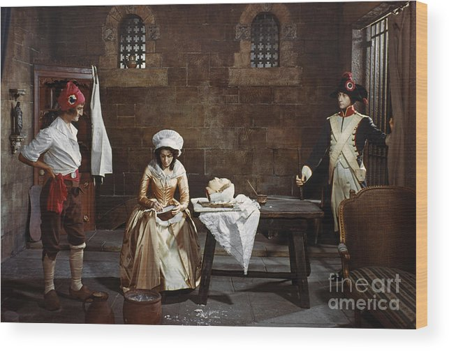 1793 Wood Print featuring the photograph Marie Tussaud (1760-1850) by Granger