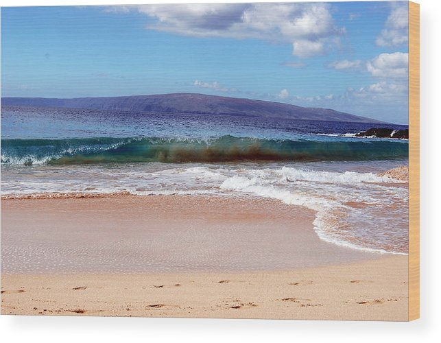 Wood Print featuring the photograph Maui Water by JK Photography