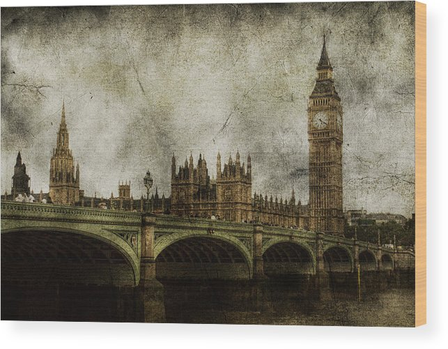 London Wood Print featuring the photograph Noble Attributes by Andrew Paranavitana