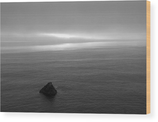 Ocean Wood Print featuring the photograph Ocean by Jessica Wakefield