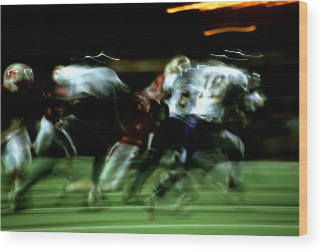 Photography Wood Print featuring the photograph Pursuit by Tom Fant