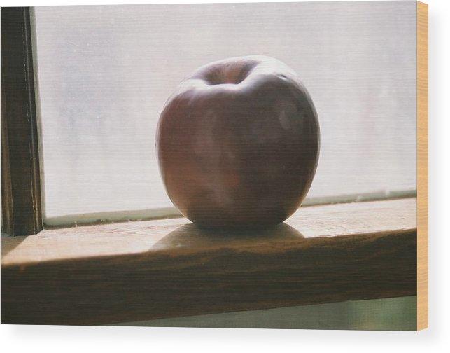 Shadows Wood Print featuring the photograph Sun Setting On Progress by Jennifer Trone