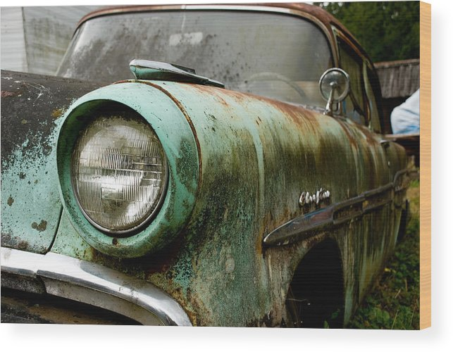 Cars Wood Print featuring the photograph Sunday Drive by Jennifer Owen