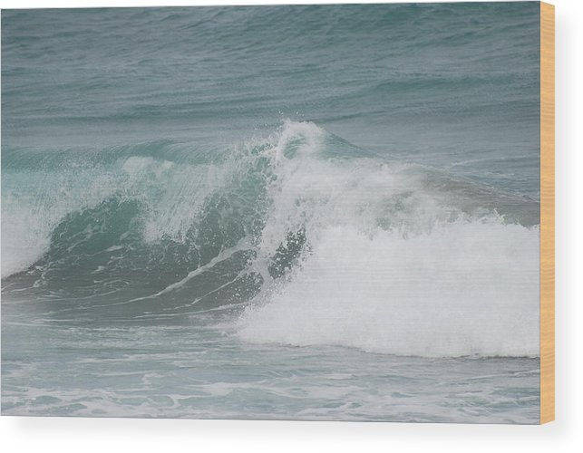 White Wood Print featuring the photograph Surf by Rob Hans