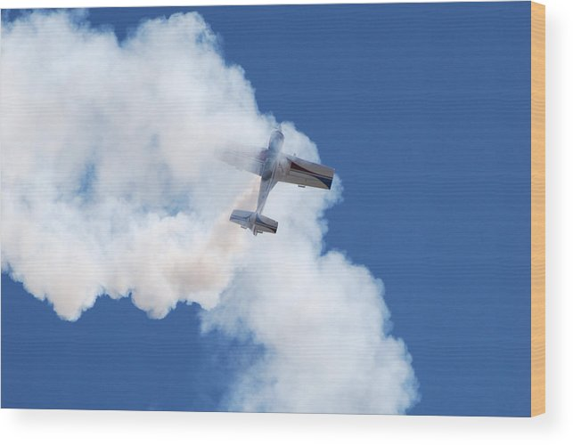 Aircraft Wood Print featuring the photograph The Stall by Larry Keahey