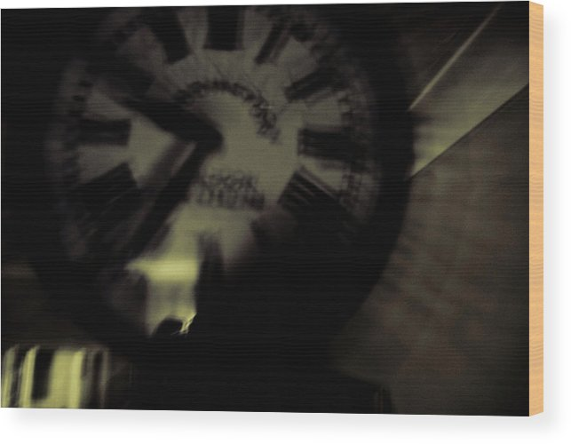 Time Wood Print featuring the photograph Time Viii by Grebo Gray