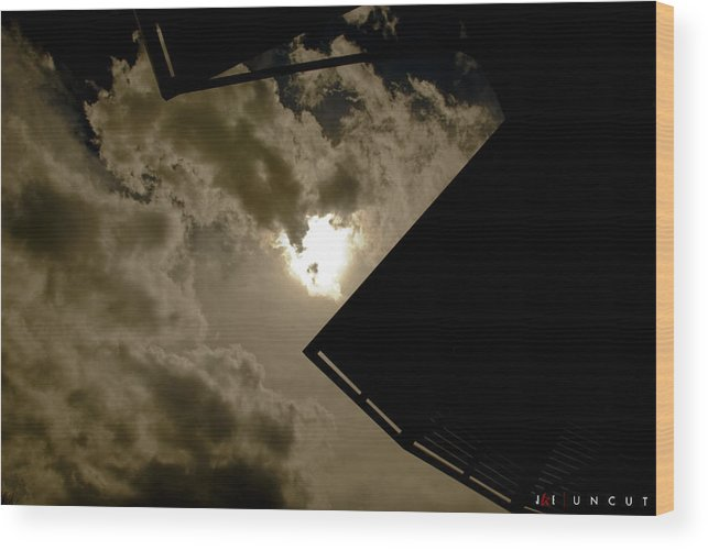 Sky Wood Print featuring the photograph Uncut by Jonathan Ellis Keys