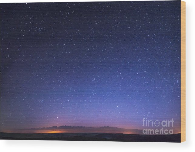 Atmosphere Wood Print featuring the photograph Deep Sky Astrophoto by Standret