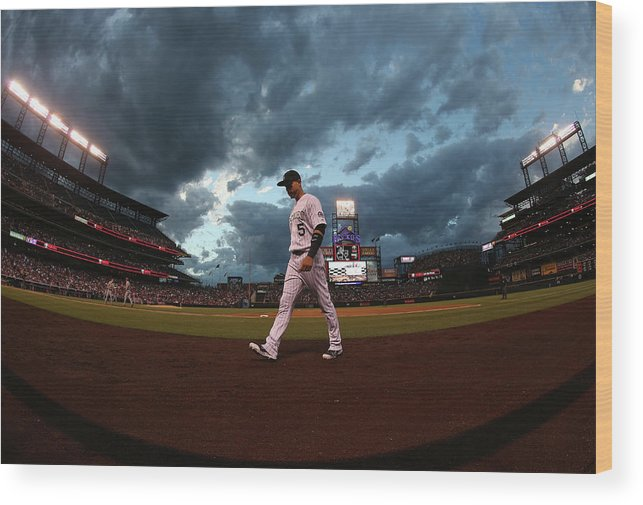 People Wood Print featuring the photograph Carlos Gonzalez by Doug Pensinger