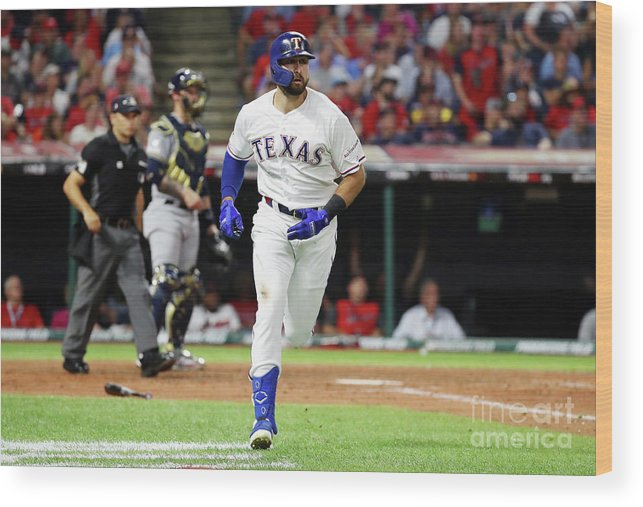 People Wood Print featuring the photograph Joey Gallo by Gregory Shamus