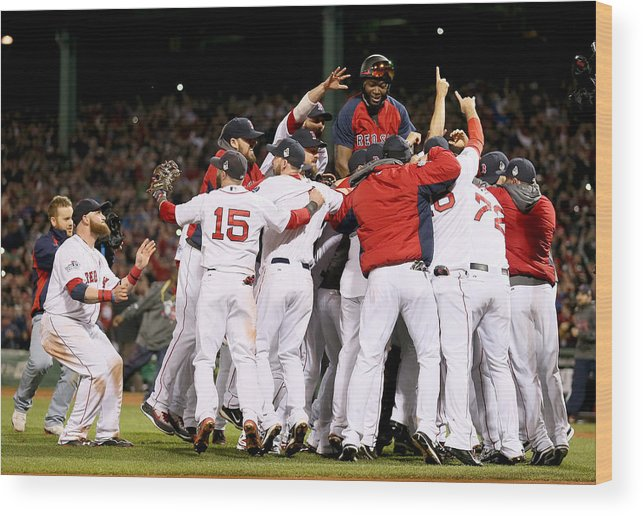 Playoffs Wood Print featuring the photograph World Series - St Louis Cardinals V 1 by Rob Carr