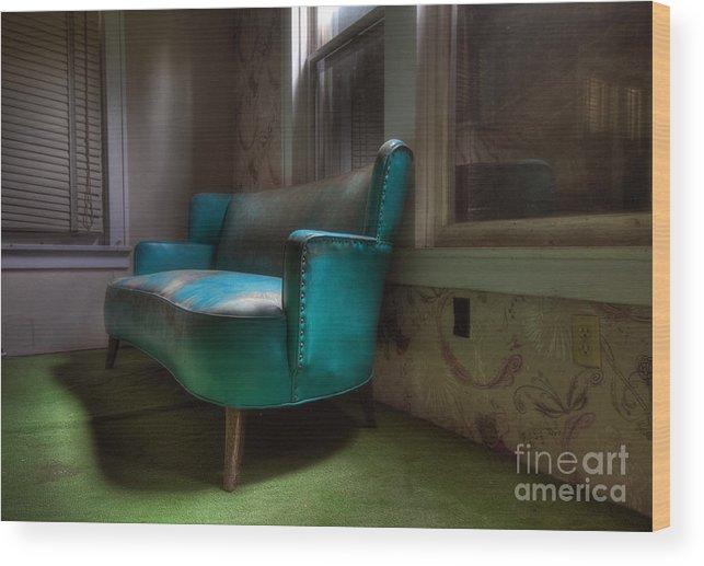 Borscht Belt Wood Print featuring the photograph Waiting by Rick Kuperberg Sr