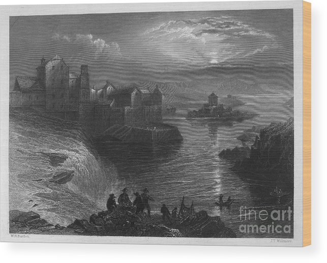 1840 Wood Print featuring the photograph Ireland: Ballyshannon by Granger