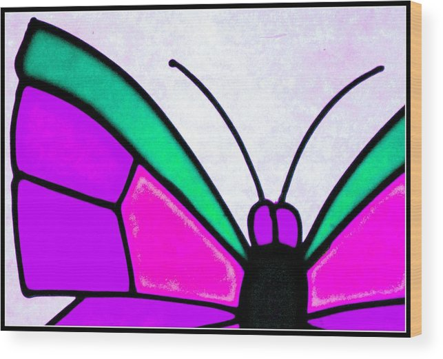 Butterfly Wood Print featuring the photograph Butterfly by Apurva Madia