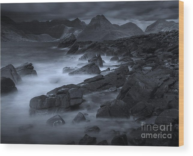 Scotland Wood Print featuring the photograph Cuillin From Elgol by David Lichtneker