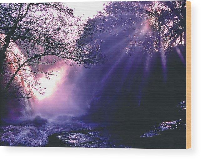 Landscape Wood Print featuring the photograph Mist Of Ireland by Matthew Altenbach