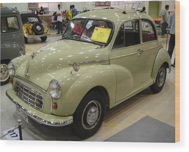 Vintage Wood Print featuring the photograph Morris by Mike Holloway