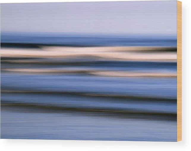 Ocean Wood Print featuring the photograph Ocean Dream by Doug Hockman Photography