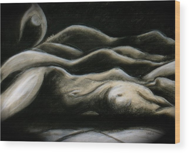 Bodyscapes Wood Print featuring the painting Palouse Dreams by Dan Earle