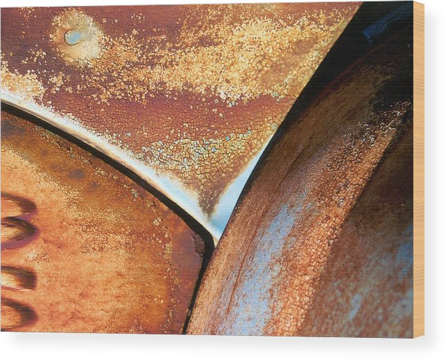 Abstract Wood Print featuring the photograph The Feminine Mystique by Steve Karol