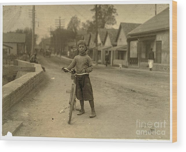 Loc Wood Print featuring the photograph Isaac Boyett by Russ Brown