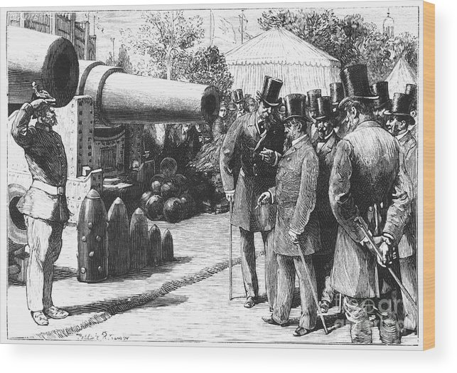 1867 Wood Print featuring the photograph Napoleon IIi At Paris, 1867 by Granger
