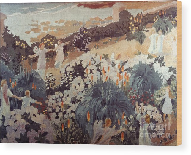 1912 Wood Print featuring the photograph Denis: Paradise, 1912 by Granger