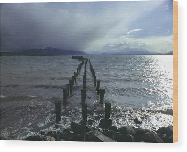 Pier Wood Print featuring the photograph Old Pier by Marcus Best