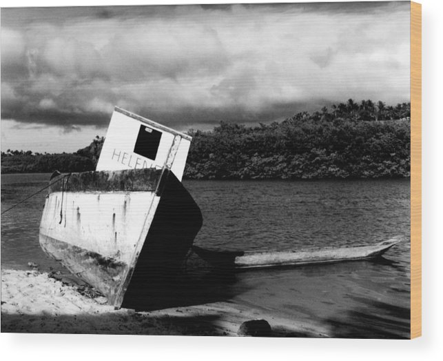 Boat Wood Print featuring the photograph Two Boats by Amarildo Correa