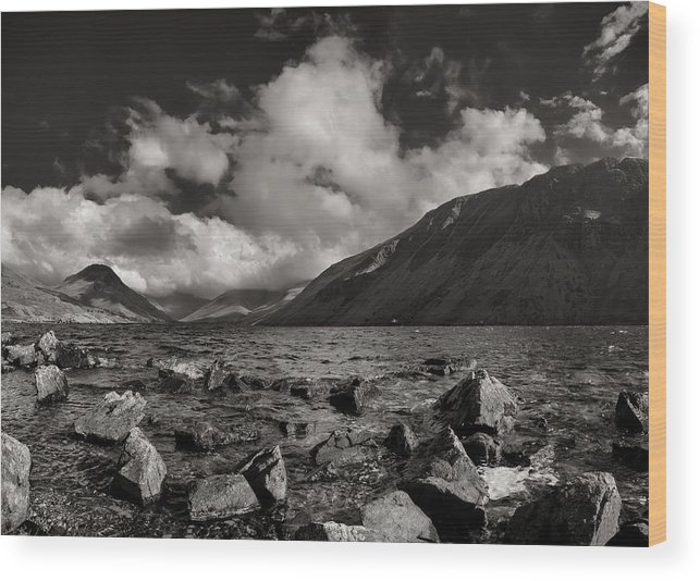 Landscape Wood Print featuring the photograph Wastwater by Graham Moore