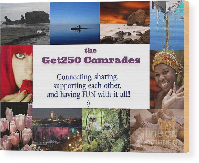 Wood Print featuring the photograph Get250 Comrades 1st Logo by Stav Stavit Zagron