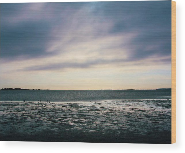 Pretty Wood Print featuring the photograph Sunset by Bradley Charles