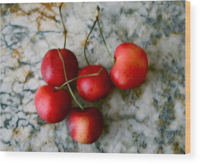 Kitchen Wood Print featuring the photograph Country Kitchen by Sherry Klander