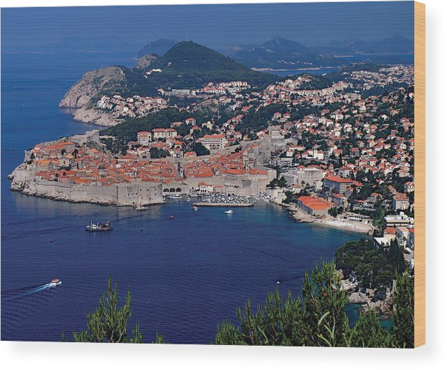 Dubrovnik Wood Print featuring the photograph Dubrovnik Croatia by Don Wolf