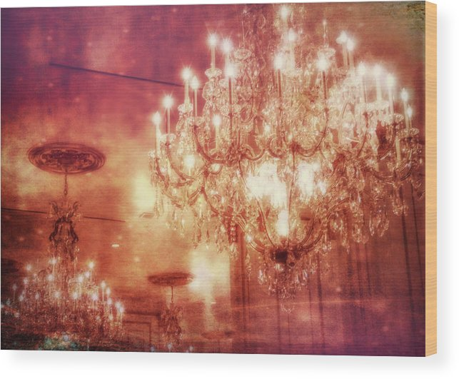 Vegas Wood Print featuring the photograph Vintage Light by JAMART Photography