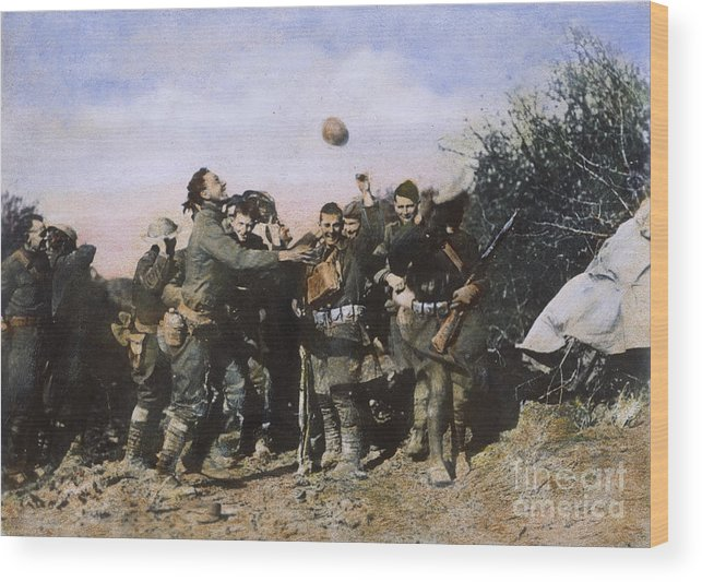 1918 Wood Print featuring the photograph World War I: Armistice by Granger