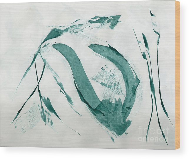 Wood Print featuring the painting Untitled by Taylor Webb