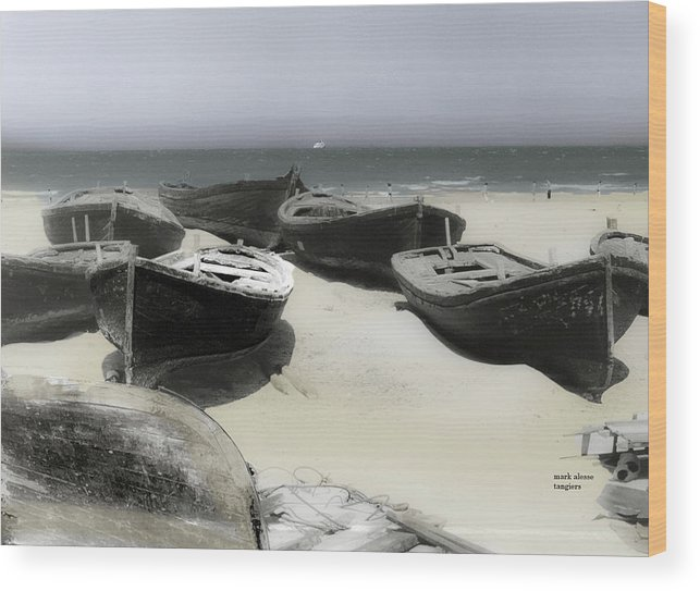 Wood Print featuring the photograph Dorries by Mark Alesse