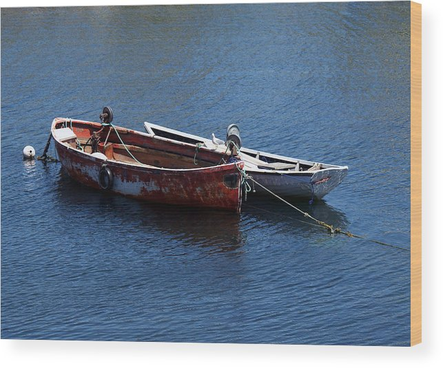 Boats Wood Print featuring the photograph At Rest by Kelvin Booker