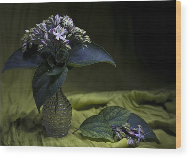 Flowers Wood Print featuring the photograph Flowers Bouquet by Lali Nisi