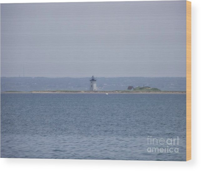 Provincetown Wood Print featuring the photograph Land's End by Michelle Welles